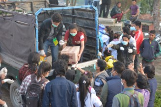 Helping Nepal Earthquake